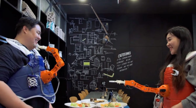 Facial Recognition Robotic Arm: Smile And You Get To Eat