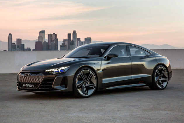 Audi e-tron GT Concept Electric Sports Sedan