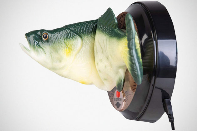 Big Mouth Billy Bass with Amazon Alexa
