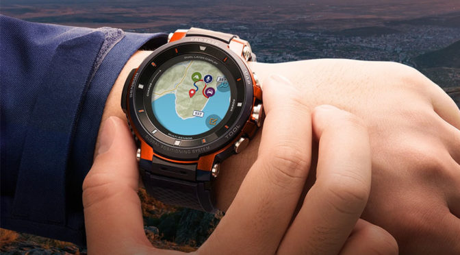CASIO PRO TREK Smart WSD-F30 Smartwatch