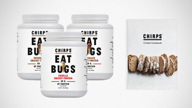 Chirps Cricket Protein Powder