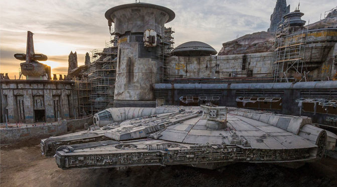 Here's The First Look Of The Millennium Falcon Ride Coming Soon To Disneyland