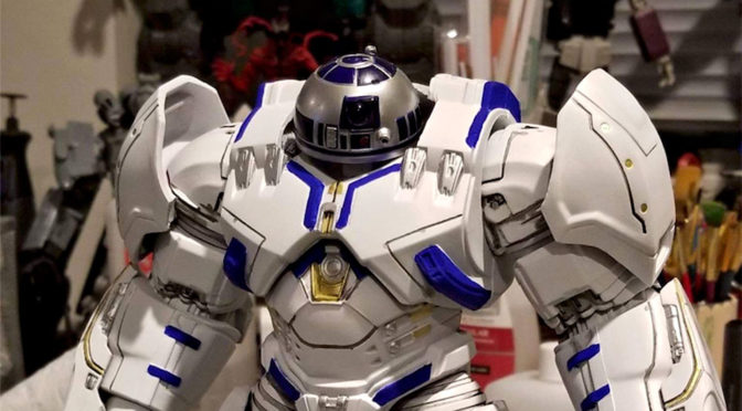 Hulkbuster x R2-D2 Mash-up Action Figure Is Pure Genius!