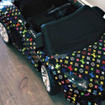 Kylie Jenner Gifts Daughter Custom Wrap Mini Lamborghini Kiddie Ride