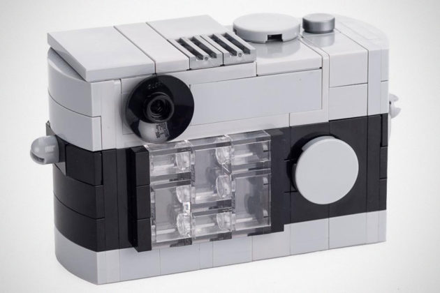 LEGO Leica Rangefinder Model Camera
