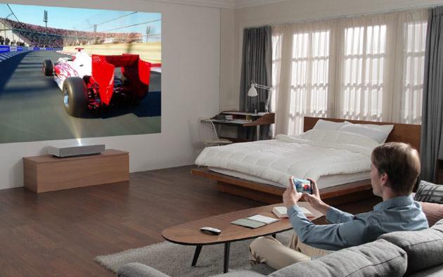 LG CineBeam Laser 4K Projector CES 2019