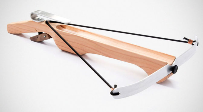 Marshmallow Crossbow Takes Marshmallow War To The Next Level