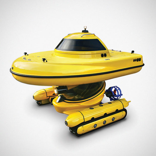 MSV Explorer Amphibious Semi-Submersible