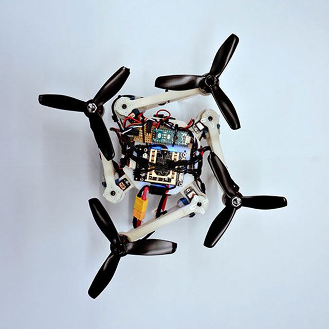 Morphing Quadrotor Drone