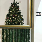 Here's A Wacky Christmas Tree Inspired By Banksy Shredded Painting
