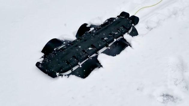 Pliant Energy Systems Amphibious Robot