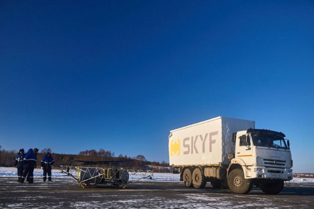 SKYF Cargo Heavy-lifting Drone