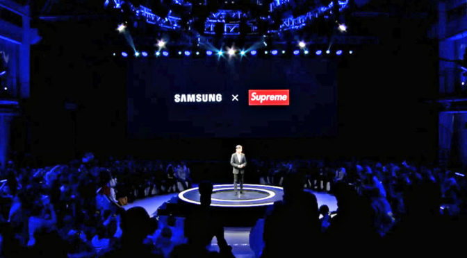 Samsung Partners With Fake Supreme
