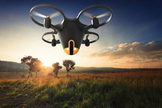 Sunflower Labs Home Security Drone System