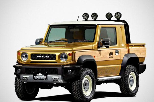 Suzuki Jimny Sierra Pickup Truck Concept