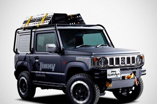 Suzuki Jimny Survive SUV Concept