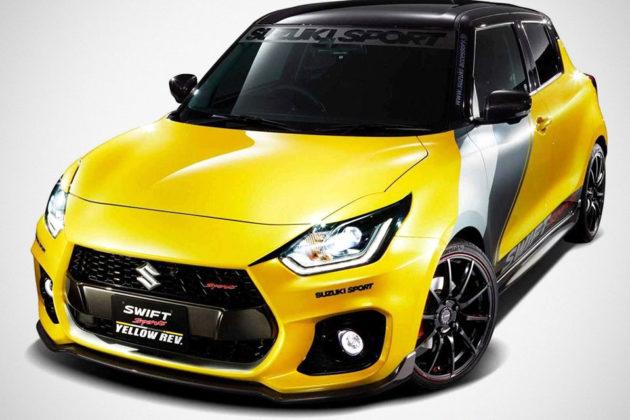 Suzuki Swift Sports Yellow Rev Concept