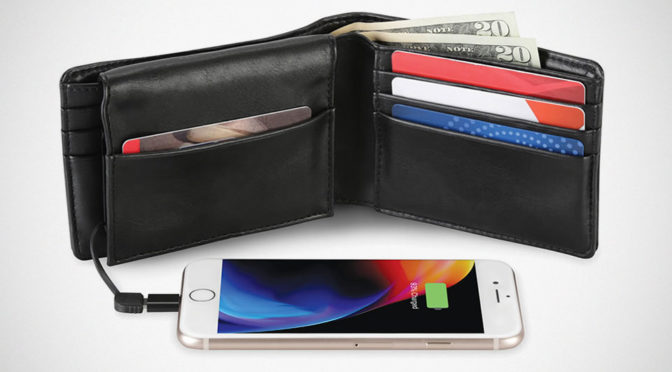The Phone Charging Wallet Serves Its Purpose At An Affordable Price