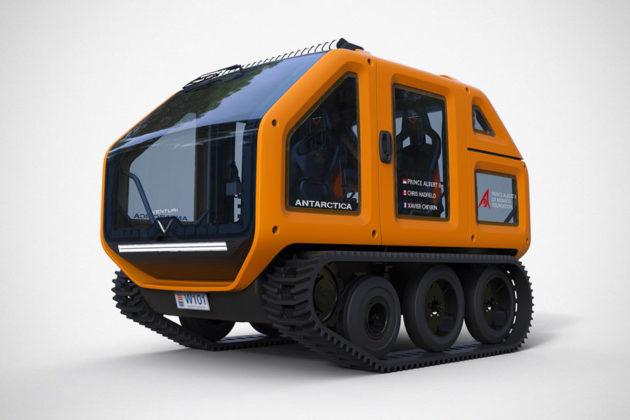 Venturi Mission 03 Electric Exploration Vehicle