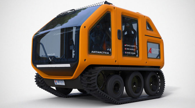 One Formula-E Team Has Designed An EV For Antarctica Exploration