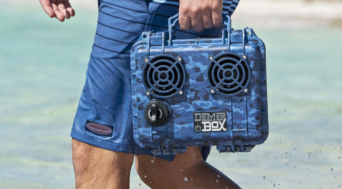 Vineyard Vines Add Some Sweet Patterns To Already Super Cool DemerBox Waterproof Speakers