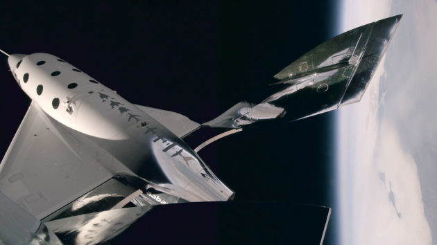 Virgin Galactic VSS Unity Maiden Spaceflight