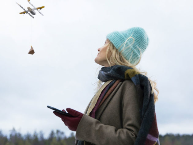 Wing Delivery Drone To Service Finland