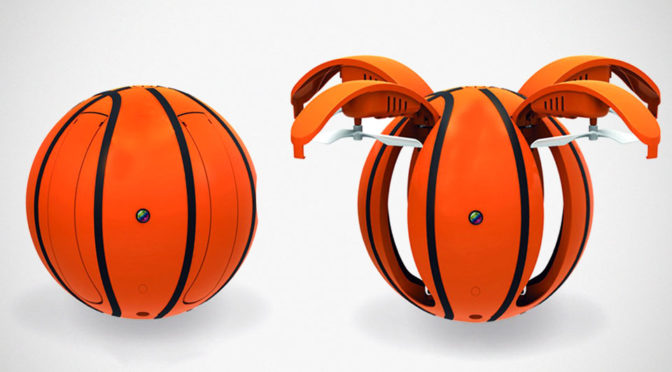 Basketball RC Drone Could Be The Golden Snitch Of The Real World