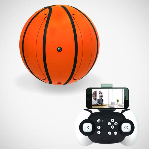 Zcadoo Folding Basketball RC Drone