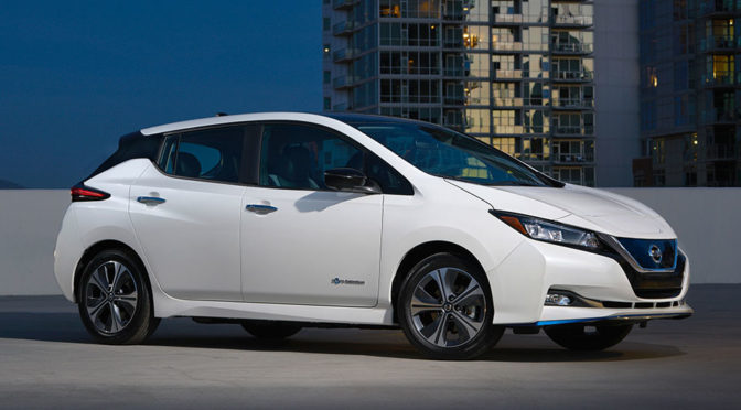 New 2019 Nissan LEAF e+ Gets Some Serious Bump In Power And Range