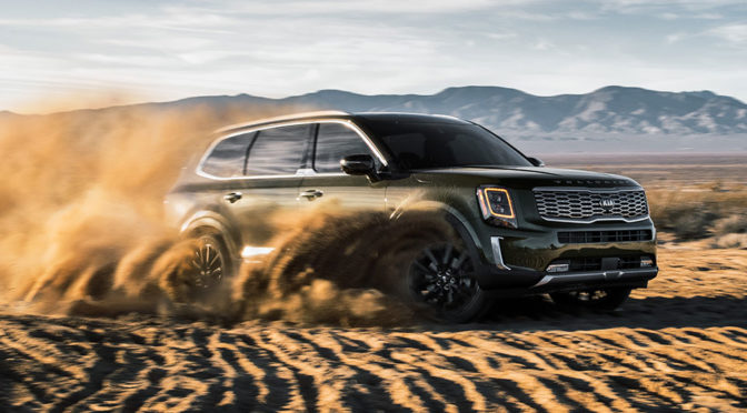 Kia Motors' Newest Midsize SUV Is Humongous, Rugged And Luxurious