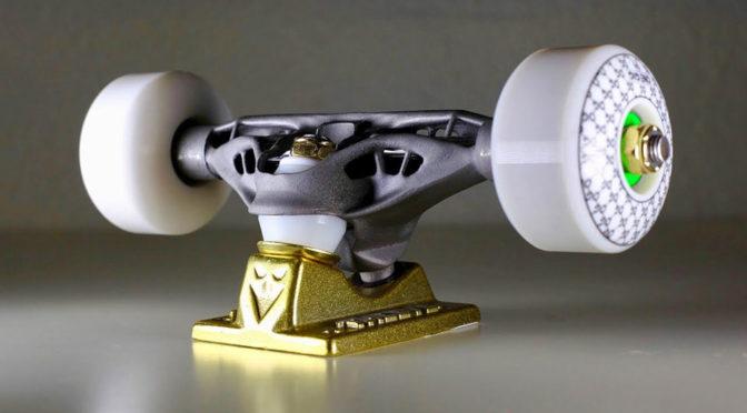 3D Printed Titanium Skateboard Truck