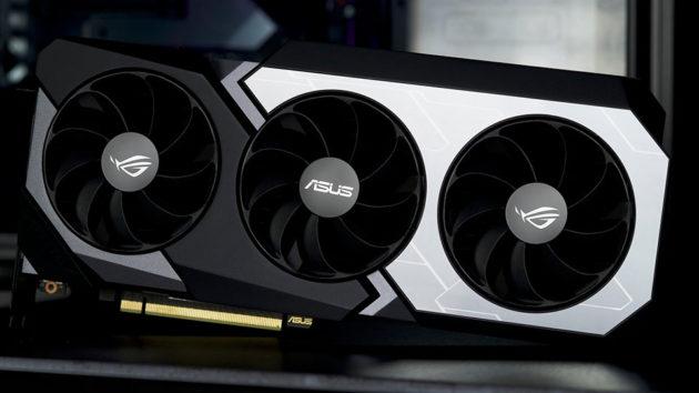 ASUS ROG Matrix GeForce RTX 2080 Ti GPU