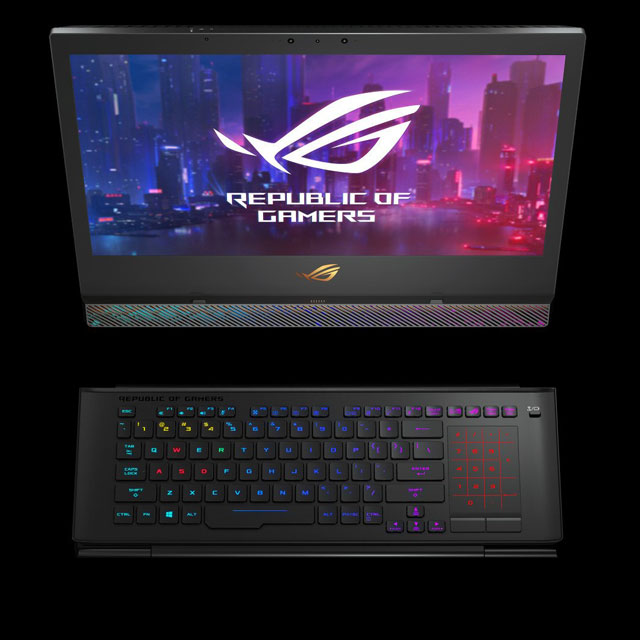 ASUS ROG Mothership GZ700 Gaming Laptop