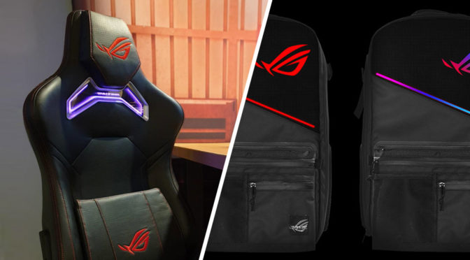 Cool Asus Takes Rgb Lighting Too Seriously Puts It On Backpack Short Links Chair Design For Home Short Linksinfo