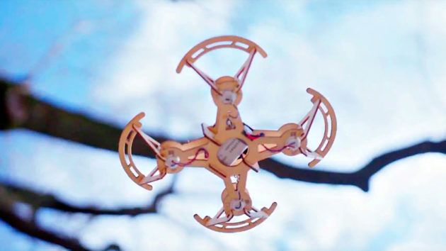 Aerowood Modular Wooden Drone Model Kit
