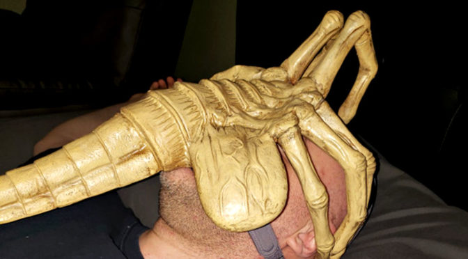 <em>Alien</em> Facehugger CPAP Ventilator Mask Won't Lay Eggs, It Delivers Air