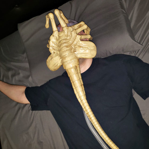Alien Facehugger CPAP Ventilator Mask
