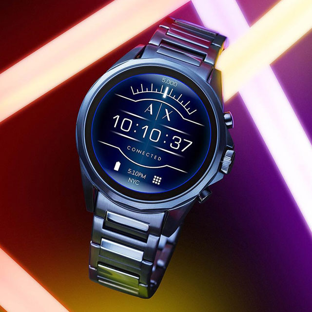 2e56f9b9089 Armani Exchange s First Touchscreen Smartwatch Is Actually ...