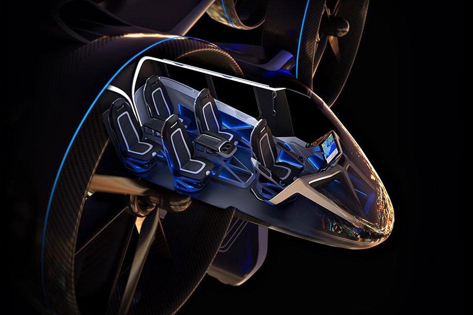 Bell Nexus Hybrid Electric VTOL