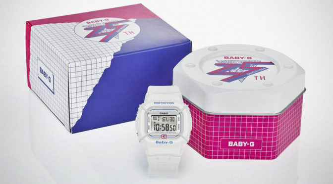 CASIO G-Shock Celebrates 25 Years Of Baby-G With A Special Baby-G Model