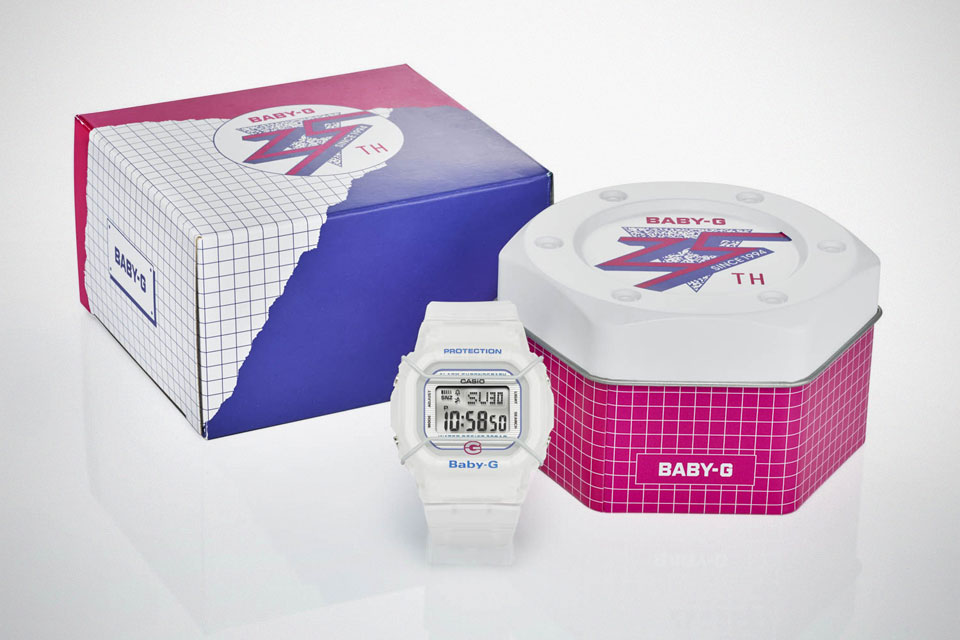 Casio BGD525-7 25th Anniversary Baby-G Watch