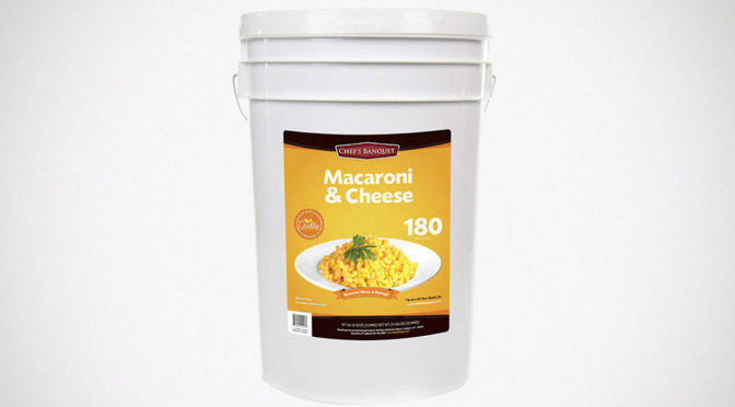 Costco 27-pound Mac-and-Cheese Bucket