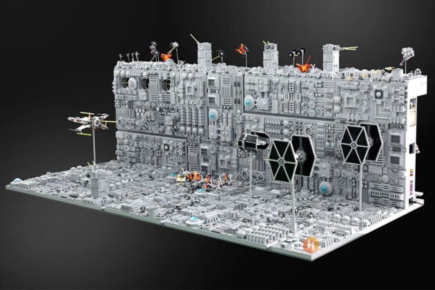 Custom LEGO Death Star Trench Run