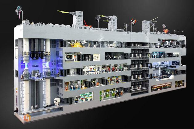 Custom LEGO Death Star Trench Run