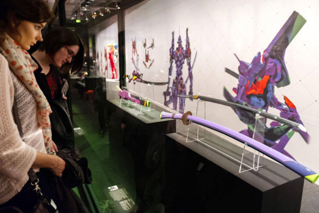 Evangelion-inspired Swords Exhibition in Paris