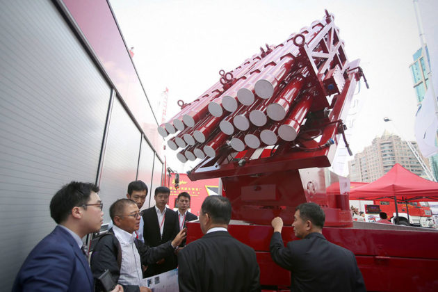 Fire Extinguishing Rocket System In China