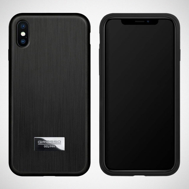 Gresso Magnum Titanium Cases for iPhone XS