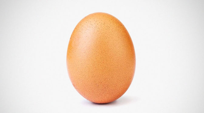 Instagram Egg Record 40M Likes