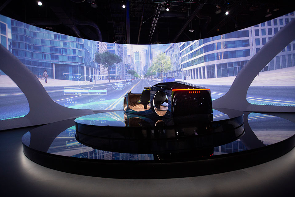 Nissan Invisible-to-Visible Technology Concept